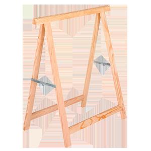 Caballete madera plegable standard
