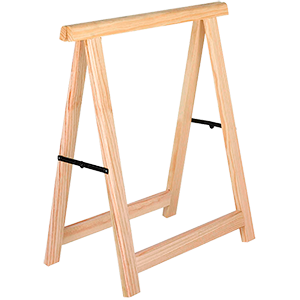 Caballete madera plegable profesional
