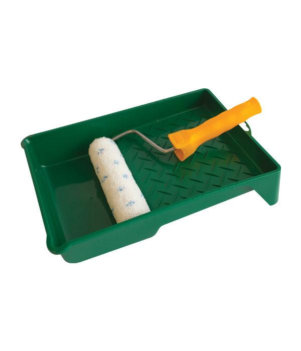 Cubeta con mini-rodillo microfibra