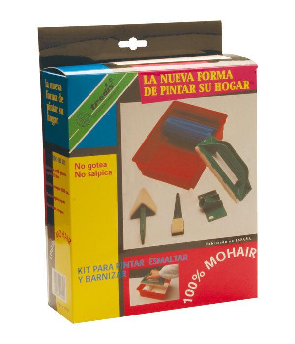 Kit de pintar 100 % Mohair, 6 piezas