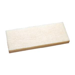 Almohadilla Mohair, rectangular