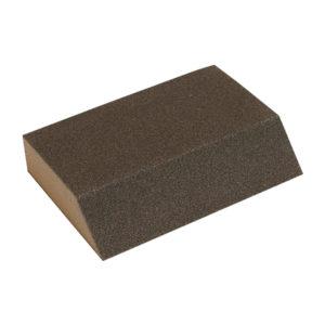 Esponja taco abrasiva con ángulo