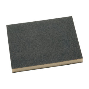 Esponja plana abrasiva