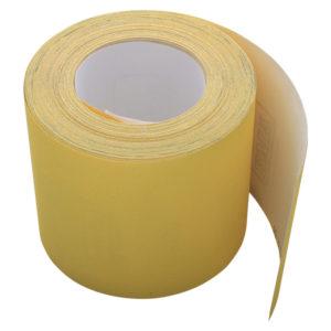 Rollo papel abrasivo, amarillo