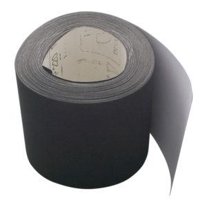 Rollo papel abrasivo, gris