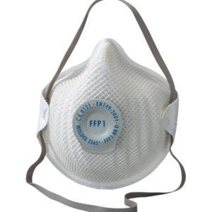 Mascarilla protección FFP1 D con válvula