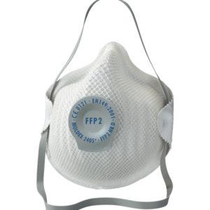 Mascarilla protección FFP2 D con válvula