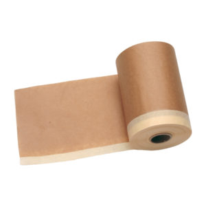 Rollo papel con cinta adhesiva