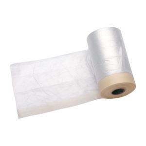 Rollo plástico con cinta adhesiva